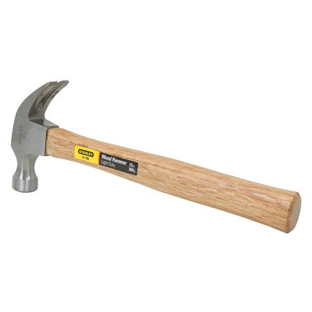 13 oz. Smooth Face Wood Handle Hammer