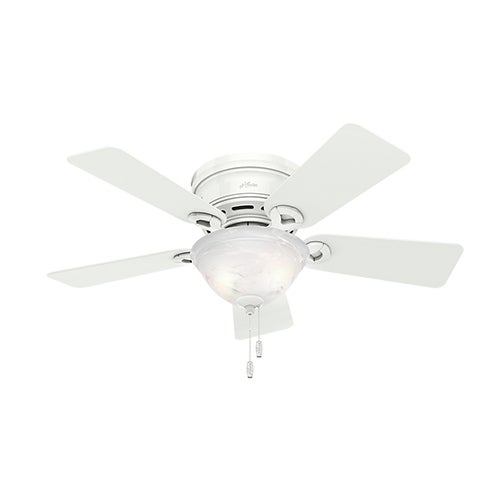 """Conroy 42"""" Ceiling Fan, Snow White Finish"""