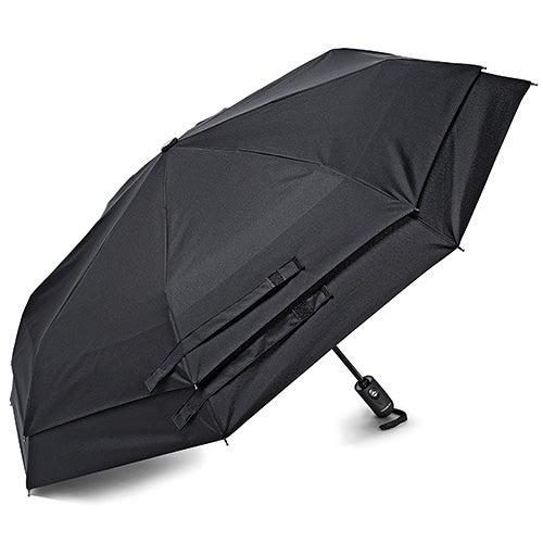 Windguard Auto Open/Close Umbrella, Black