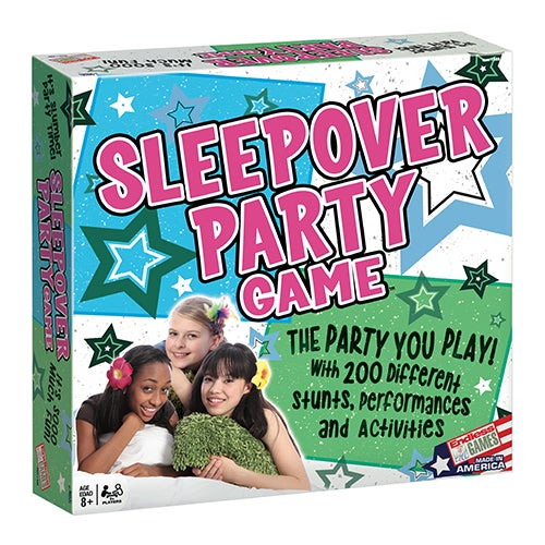 The Sleepover Party Game, Ages 8+ Years