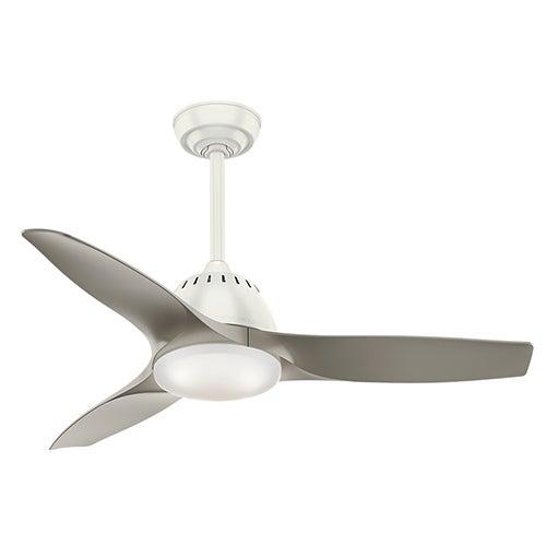 """Wisp 44"""" Ceiling Fan, Fresh White"""