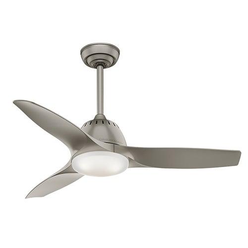 """Wisp 44"""" Ceiling Fan, Pewter"""
