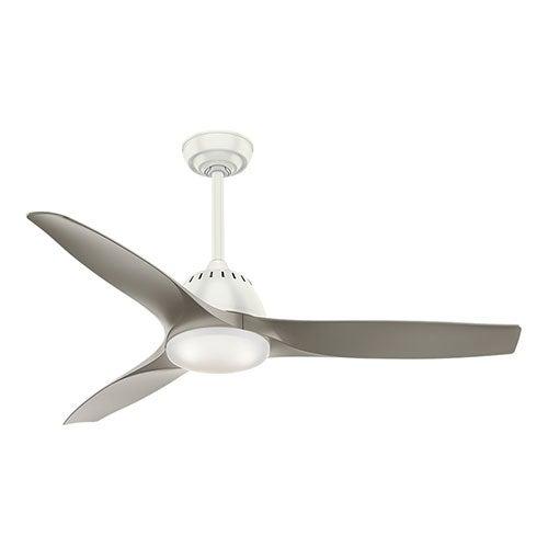 """Wisp 52"""" Ceiling Fan, Fresh White"""