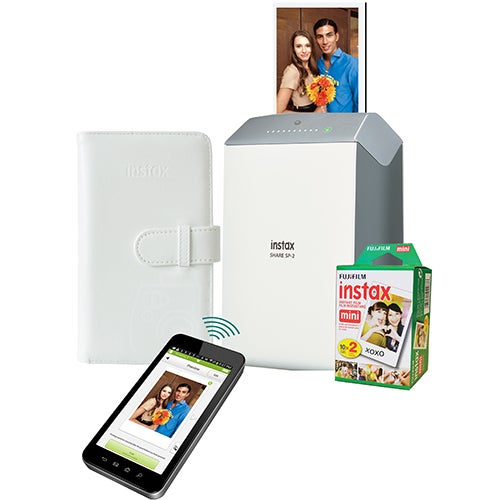Instax SHARE SP-2 Printer w/ 20ct Film & Photo Album