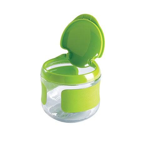 Tot Flip-Top Snack Cup, Green