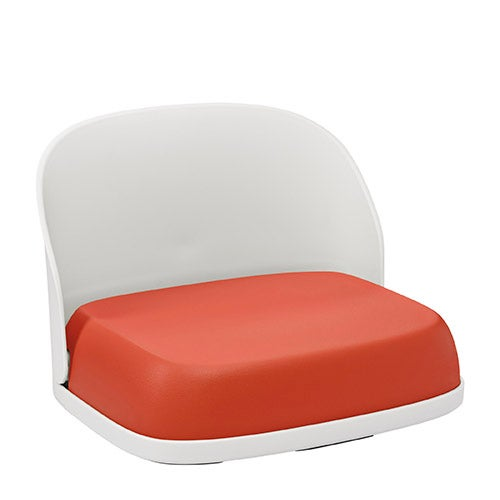 Tot Perch Booster Seat for Big Kids, Orange
