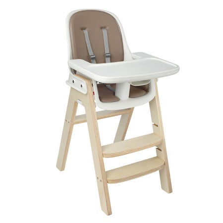 Sprout High Chair, Taupe/Birch