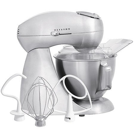 Eclectrics All-Metal Stand Mixer, Stainless