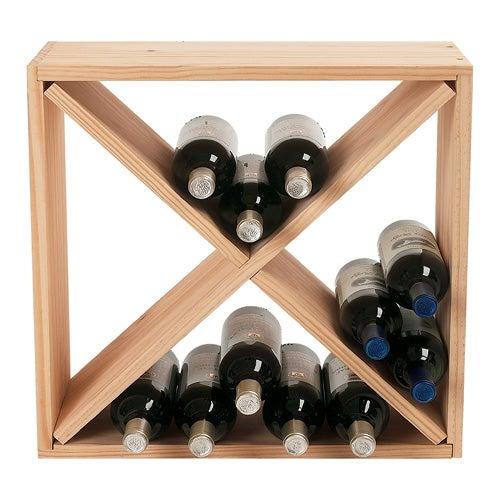 24 Bottle Compact Cellar Cube Wine Rack