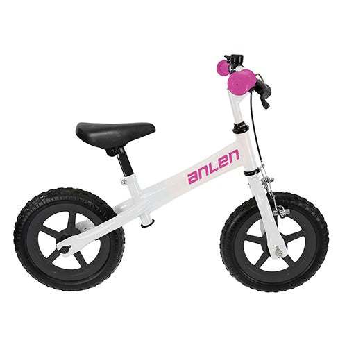 P.12 Balance/Running Bike, White/Pink