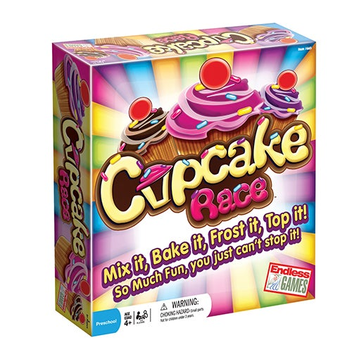 Cupcake Race Game, Ages 4+ Years