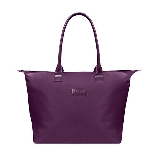 Lady Plume Medium Tote Bag, Purple