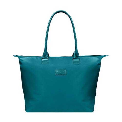 Lady Plume Medium Tote Bag, Duck Blue