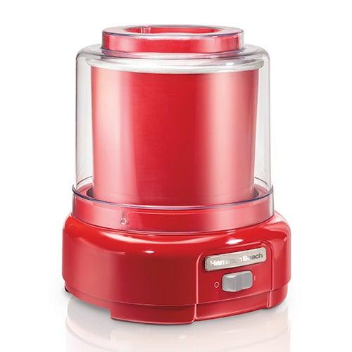 1.5 Qt Ice Cream Maker, Red