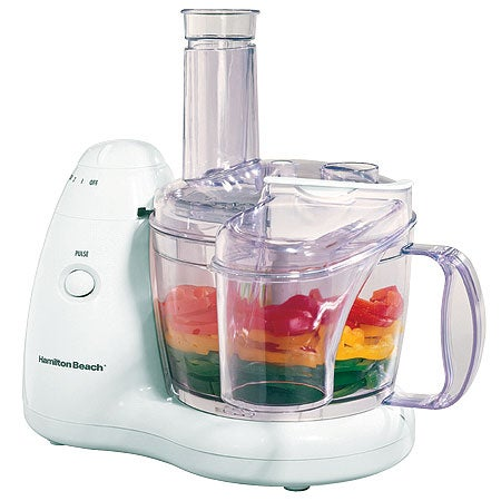 8-Cup 2-Speed Food Processor