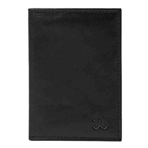 RFID Blocking Classic Leather Passport Case
