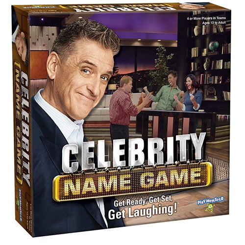 Celebrity Name Game, Ages 13+ Years