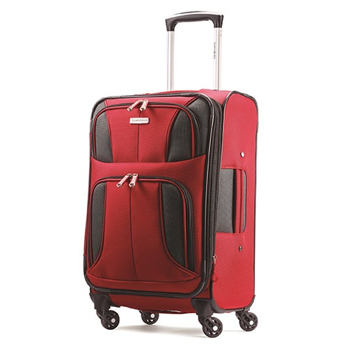"""Aspire XLite 20"""" Spinner Carry-on, Red"""