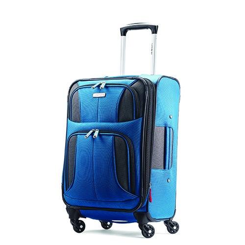 """Aspire XLite 20"""" Spinner Carry-on, Blue"""