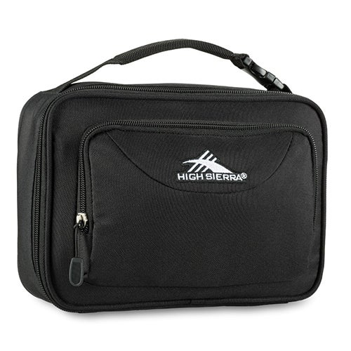 Single Compartment Lunch Bag, Black