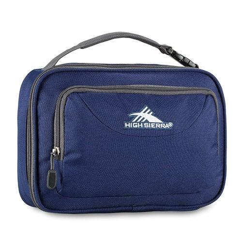 Single Compartment Lunch Bag, True Navy/Mercury
