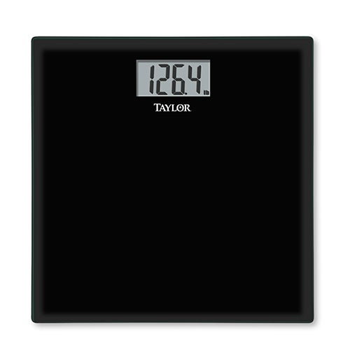 High-Tempered Glass Scale, Black