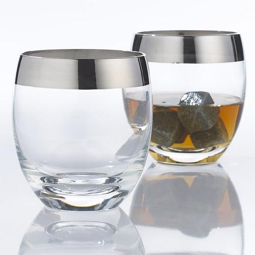 Madison Ave Whiskey Glasses, Set of 2