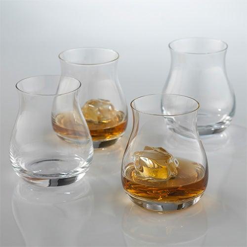 Glencairn Wide-Bowl Whiskey Glasses, Set of 4