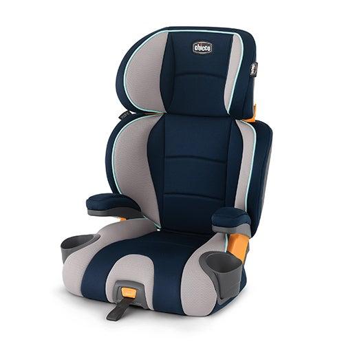 Kidfit 2-In-1 Belt Positioning Booster Car Seat, Wimbledon