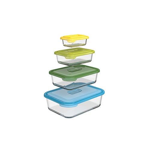 Nest Glass 8-Piece Food Storage