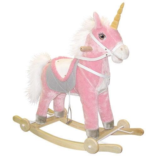 Eunice Unicorn Rocker on Wheels