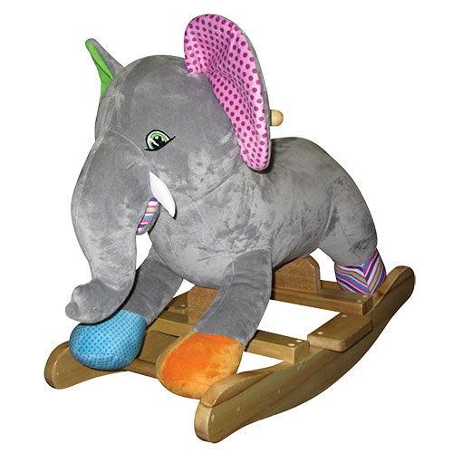 Olive Elephant Rocker