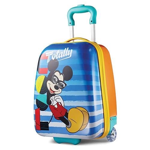 "Disney Mickey Mouse 18"" Hardside Upright Roller Bag"