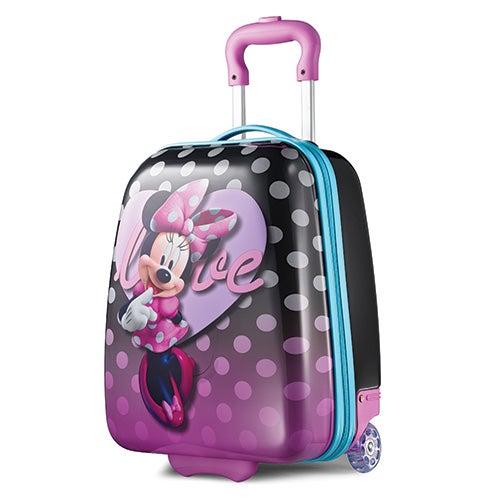 """Disney Minnie Mouse 18"""" Hardside Upright Roller Bag"""
