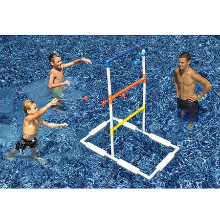 Floating Ladderball Game