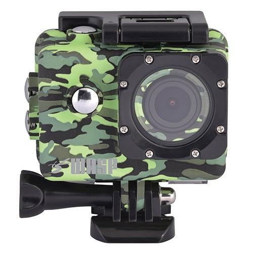 ROX 4K Wi-Fi Action Camera, Camo