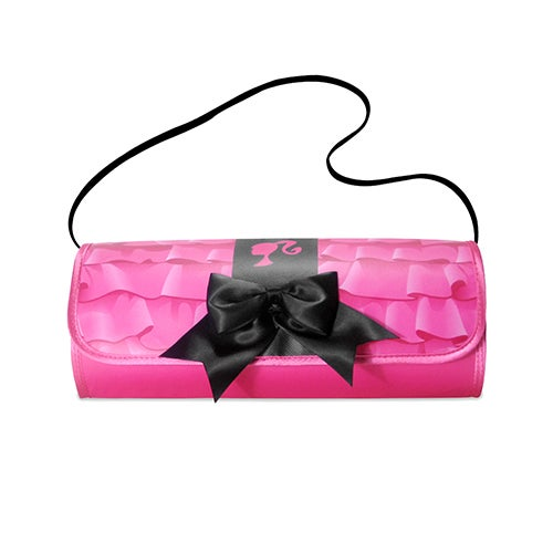 Barbie Black Bow 2 Doll Clutch and Closet, Ages 3+ Years
