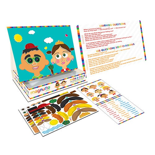 Magnutto Make a Mood Educational Magnetic Activity Set, Ages 5+ Years