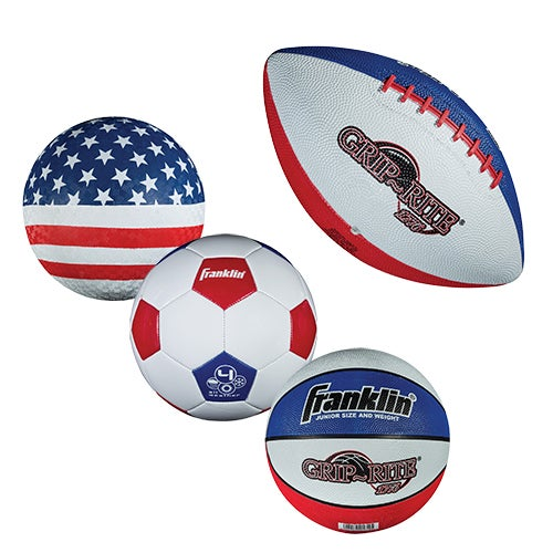American Flag 4-Piece Youth Ball Set