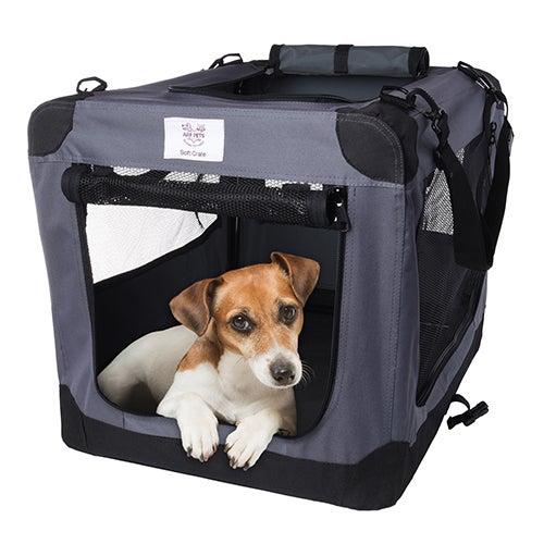 Soft Folding Pet Crate, Small