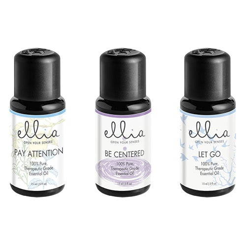 Essential Oil 3-Pack: Pay Attention, Be Centered and Let Go