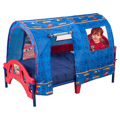 Cars Toddler Tent Bed, Ages 18 Months to 5 Years