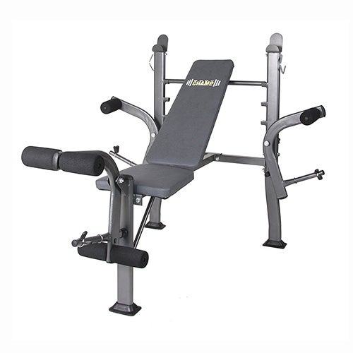 Body Champ Standard Weight Bench with Butterfly