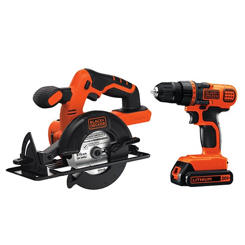20V MAX Drill/Driver & Circular Saw Combo Kit