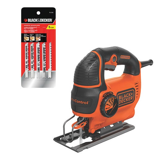 5 Amp Jigsaw with CurveControl w/ 5-Pack of Blades