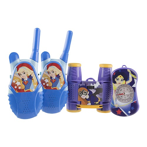 Super Hero Girls Walkie Talkie Adventure Kit, Ages 5+ Years
