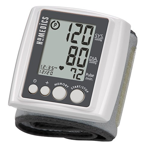Automatic Wrist Blood Pressure Monitor with Smart Measure