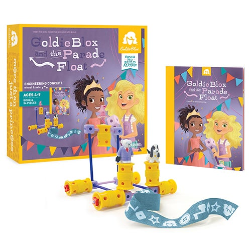 GoldieBlox and the Parade Float, Ages 4-9 Years