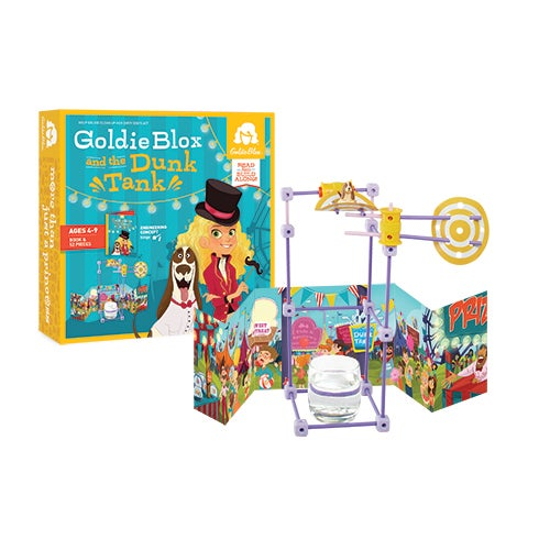 GoldieBlox and the Dunk Tank, Ages 4-9 Years