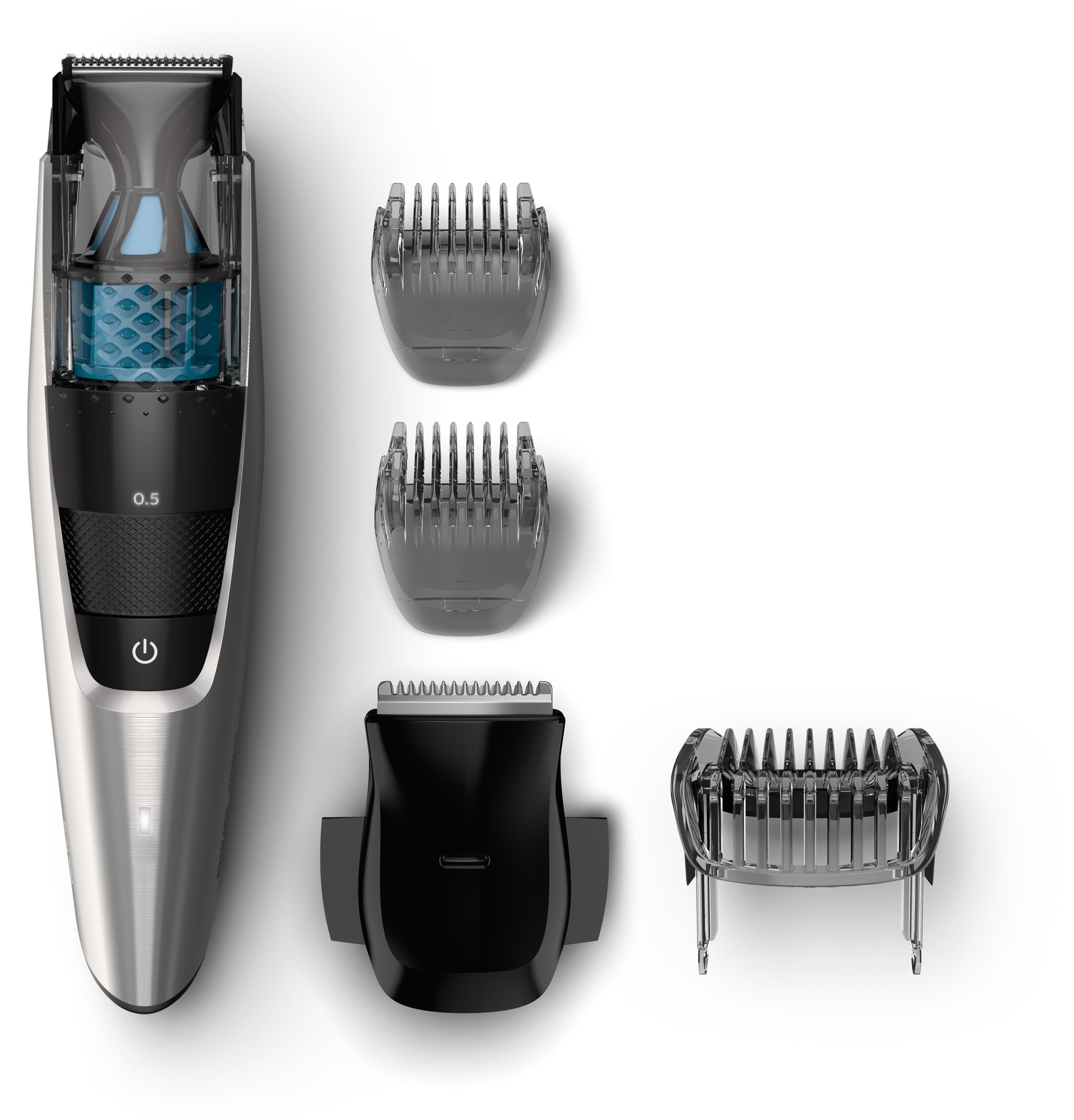 Series 7200 Beardtrimmer with Vacuum System